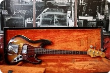 Fender-Jazz Bass-1964-Sunburst