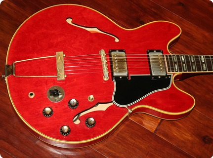 Gibson Es 345   (gie1065)  1966 Cherry Red
