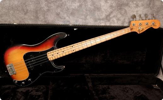 Fender Precision *a Neck* 1973 Sunburst