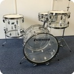 Ludwig Vistalite Downbeat 1976 Transparent