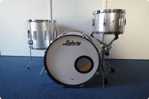 Ludwig Ludwig Club Date L6103lxt5 Downbeat  2016 Silver Mist