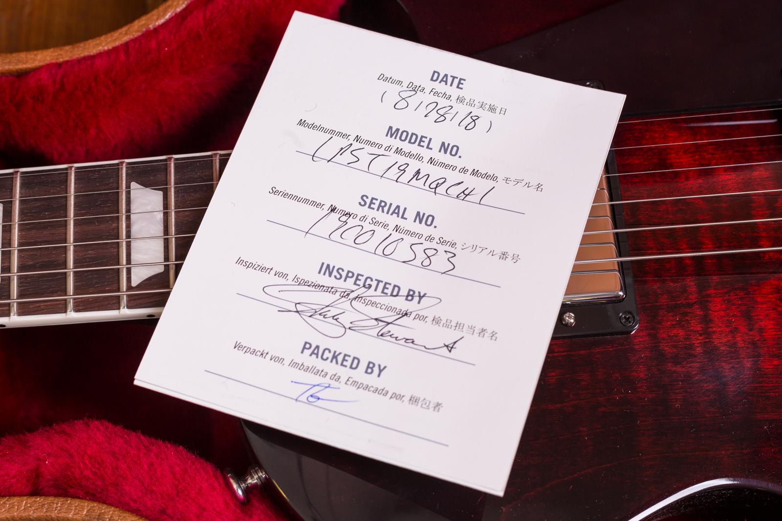 Gibson Les Paul seriell dating 24 år gammal dating 12 år gammal 2014