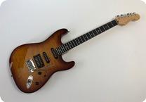 Fender American Deluxe Stratocaster FMT HSS 2007 Sunburst