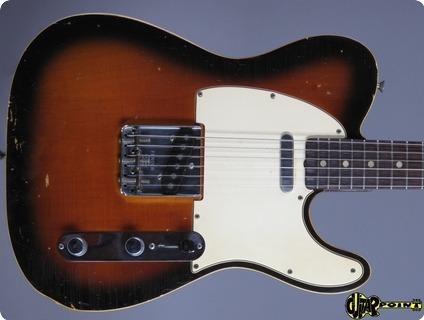 Fender Telecaster 1967 3 Tone Sunburst