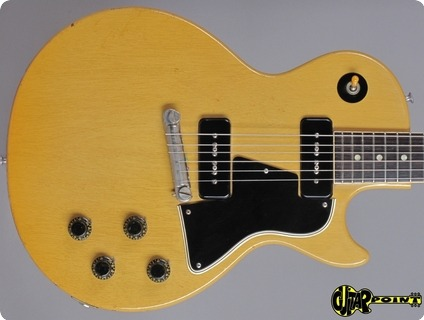 Gibson Les Paul Special Tv Model 1957 Tv Yellow