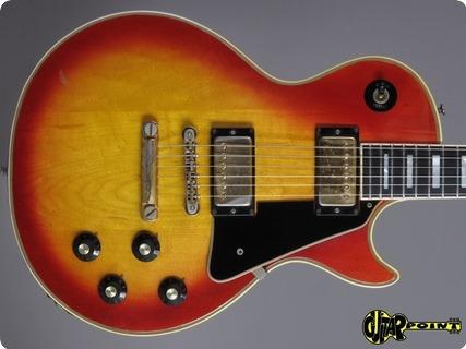 Gibson Les Paul Custom 1973 Cherry Sunburst