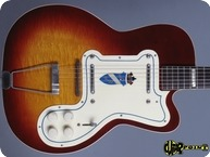 Silvertone 1369L Jimmy Reed 1955 Sunburst