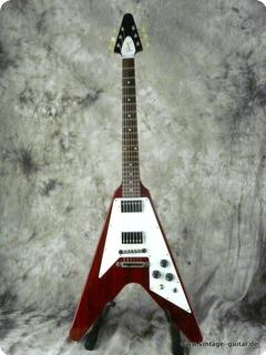 Gibson Flying V '67 Reissue Cherry