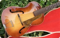 Hofner All Original 1956 Hofner Congress Archtop Guitar Brunette Sunburst OHC 1956 Brunette Sunburst