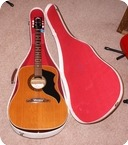 Eko Eko J 54 Acoustic Guitar Original Case 1966 Natural