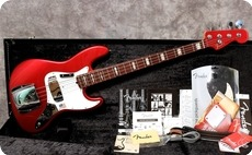 Fender 50th Anniversary Jazz 2010 Candy Apple Red