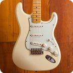 Fender Custom Shop Stratocaster 2012 Aged Olympic White