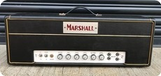 Marshall JTM45 Silver And Maroon Block Logo 1964 Black