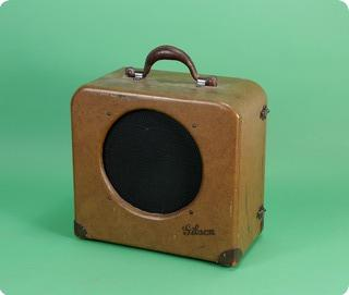 Gibson Eh 125 Amp 1939 Brown
