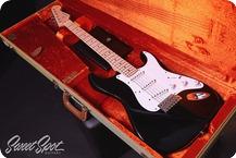 Fender Eric Clapton Stratocaster Masterbuilt Custom Shop Dennis Galuszka Blackie 2017 Black