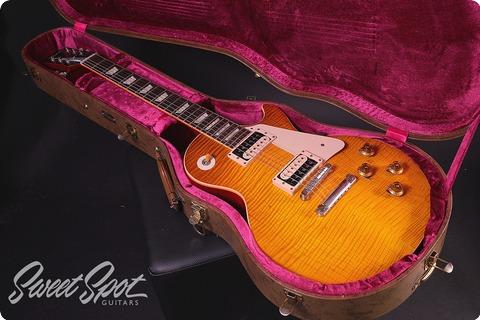 Gibson Les Paul 1959 Historic Reissue Collectors Choice #4 Aged Sandy R9 2012 Sunburst