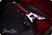 Gibson Custom Shop Flying V Kirk Hammett Aged 2012 Black