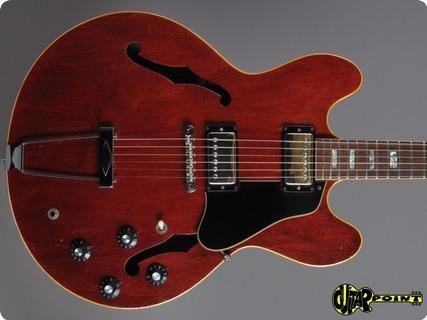 Gibson Es 335 Tdc 1969 Cherry