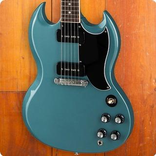 gibson sg special 2019 faded pelham blue guitar for sale max guitar. Black Bedroom Furniture Sets. Home Design Ideas