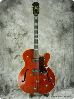 Epiphone Broadway Model E 252 1967 Cherry Red