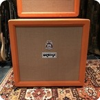 Orange Vintage 1972 Orange 4x12 Guitar Cabinet Celestion Greenback G12H T1217