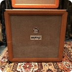 Orange Vintage 1973 Orange 4x12 Guitar Cabinet Celestion Greenback G12H T1217