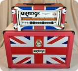 Orange Limited Edition Head Cab 2x12 2010 Union Jack