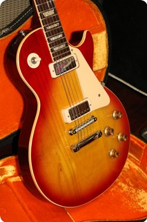 Gibson Les Paul Deluxe (gie1067)  1971 Cherry  Sunburst
