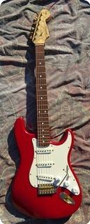 Fender Custom Shop Stratocaster 1993 Trasparent Red