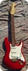 Fender Custom Shop Stratocaster 1993 Trasparent Red