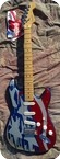 Fender Startocaster The Flag Aluminum Body 1994 THE FLAG ALUMINUM BODY