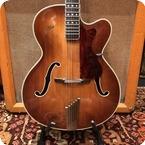 Hofner Vintage 1960 Hofner President Acoustic Archtop Brunette Rosewood Hollow Guitar