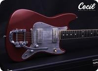 Mario Cecil Guitars High Fidelity Cherrybomb 2018 Nitro Oxid Red