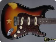 Fender Masterbuilt Stratocaster Mark Kendrik Star Club 1 Of 10 2007 3 tone Sunburst