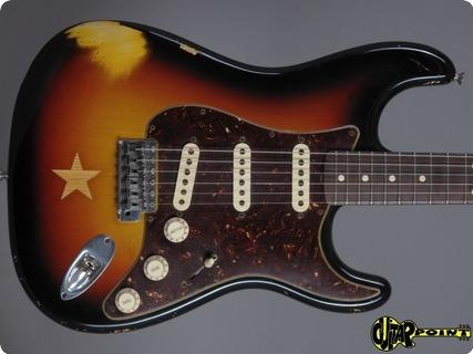 Fender Masterbuilt Stratocaster Mark Kendrik Star Club / #1 Of 10! 2007 3 Tone Sunburst