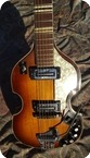 Hofner Violin Guitar 459 VTZ 1967 Violin Sunburst