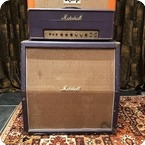 Marshall Vintage 1968 Marshall JMP 50 Plexi Custom Purple Stack Amplifier