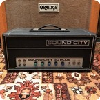 Sound City Vintage 1970s Sound City 50 Plus Mark 4 Valve Amplifier