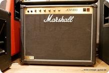 Marshall JCM 800 Combo 2x12 Black Tolex
