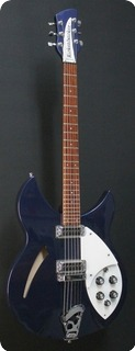 Rickenbacker 330 Midnight Blue 2014