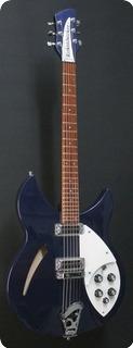 Rickenbacker 330 Midnight Blue 2014
