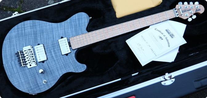 Music Man Ernie Ball Axis Bfr  Steel Blue