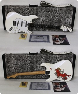 Charley's Guitar Shop Charley's/rene Martinez Srv Lipstick Special 2003 Pearl White