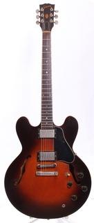 Gibson Es 335 Dot Custom Shop 1982 Tobacco Sunburst
