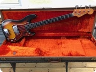 Fender Precision Bass 1963 Sunburst