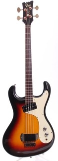 Mosrite The Ventures Bass Mark I '65 Reissue 1990 Sunburst