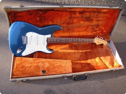 Fender Stratocaster 1964 Lake Placid Blue (refin)