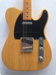 Fender '52 Telecaster Avri Usa Reissue 2007 Blonde Butterscotch