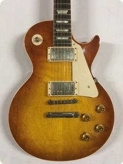 Gibson '58 Les Paul Standard R8 Reissue 2011 Slow Ice Tea