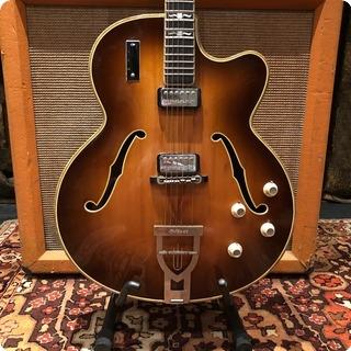 Hofner Vintage 1964 Hofner Committee E2 Brunette Electric Guitar 6.4lbs